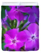 Floral Expression 2 021911 Duvet Cover by David Lane