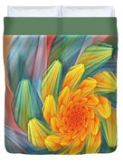 Floral Expressions 1 Duvet Cover