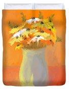 Floral Fantasia Duvet Cover