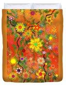 Floral Fantasy 122110 Duvet Cover