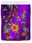 Floral Fantasy 122410 Duvet Cover