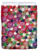 Floral Field  Duvet Cover