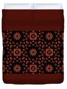Floral Fire Tapestry Duvet Cover