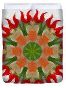 Floral Flare Duvet Cover