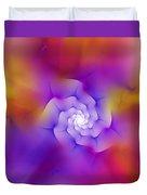 Floral Fractal 052210 Duvet Cover