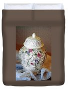 Floral Jar Duvet Cover