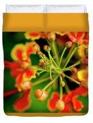 Floral Macro Duvet Cover