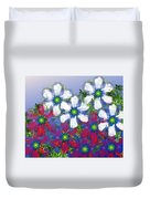 Floral Madness 2 Duvet Cover