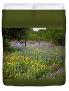 Floral Pasture No. 2 Duvet Cover