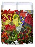Floral Reef Duvet Cover
