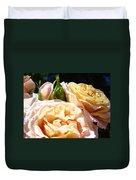 Floral Roses Garden Art Prints Baslee Troutman Duvet Cover