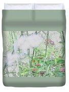 Floral Sketch Duvet Cover