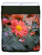 Floral Smiles Duvet Cover