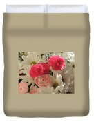 Floral Smiles Duvet Cover