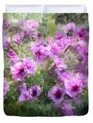 Floral Study 053010 Duvet Cover