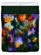 Floral Study 053010a Duvet Cover