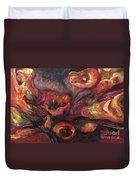 Floral Sun Worship Duvet Cover