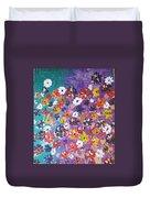 Floral Theme Duvet Cover