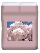 Floral Tree Blossoms Flowers Pink Art Baslee Troutman Duvet Cover