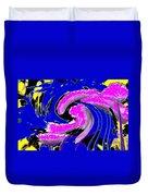 Floral Twist Duvet Cover