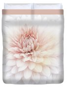 Floral Watercolor Background Duvet Cover