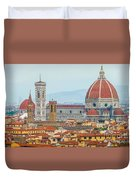 Florence And The Roofs Duvet Cover