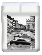 Florence: Flood, 1966 Duvet Cover