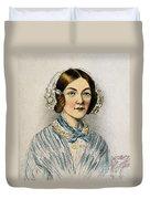 Florence Nightingale, Nurse Duvet Cover