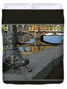 Florence The Old Bridge Duvet Cover