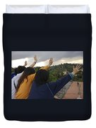 Florence, Tuscany, Italy, Small Group Duvet Cover