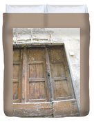 Florentine Door 4 Duvet Cover