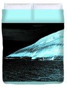 Fluorescent Rock Duvet Cover