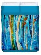 Floresta Azul Duvet Cover