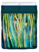 Floresta Verde  Duvet Cover