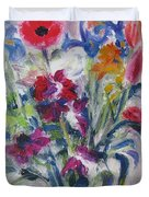 Floribunda Bouquet Duvet Cover