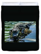 Florida Alligator Duvet Cover