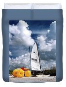 Florida Beach 3 Duvet Cover