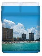 Florida Beach Panama City Duvet Cover