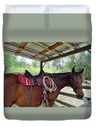 Florida Cracker Horse Duvet Cover