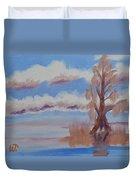 Florida Cypress Duvet Cover
