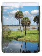 Florida Essence - The Myakka River Duvet Cover