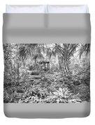 Florida Garden Scene_009 Duvet Cover