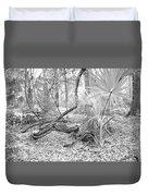 Florida Garden Scene_012 Duvet Cover