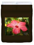 Florida Hibiscus Duvet Cover