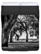 Florida Interior From Bok Gardens Duvet Cover