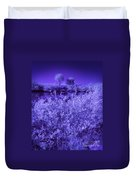 Florida Lagoon In Ir Duvet Cover
