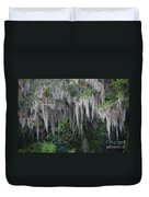 Florida Mossy Tree Duvet Cover