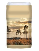 Florida Pine Landscape By H H Photography Of Florida Duvet Cover