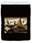 Florida Pioneers 1800s Duvet Cover