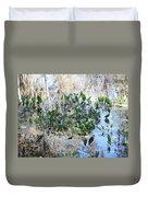 Florida Pond Duvet Cover